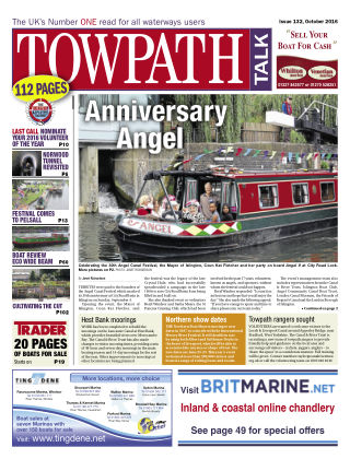 Towpath Talk October 2016