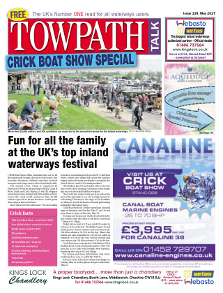 Towpath Talk May 2017