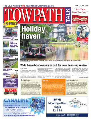 Towpath Talk July 2018