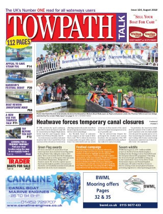 Towpath Talk August 2018