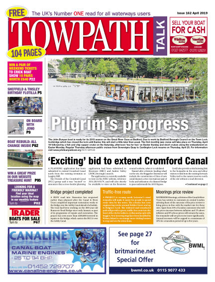 Towpath Talk March 27, 2019 00:00
