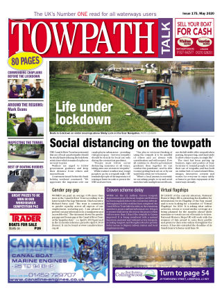 Towpath Talk May 2020