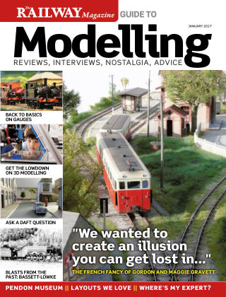 Railway Magazine Guide to Modelling January 2017