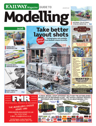 Railway Magazine Guide to Modelling August 2017