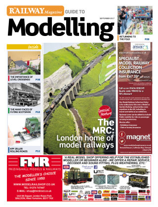 Railway Magazine Guide to Modelling September 2017