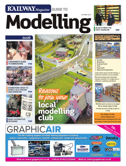 Railway Magazine Guide to Modelling September 29, 2017 00:00