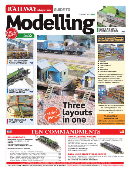 Railway Magazine Guide to Modelling January 26, 2018 00:00