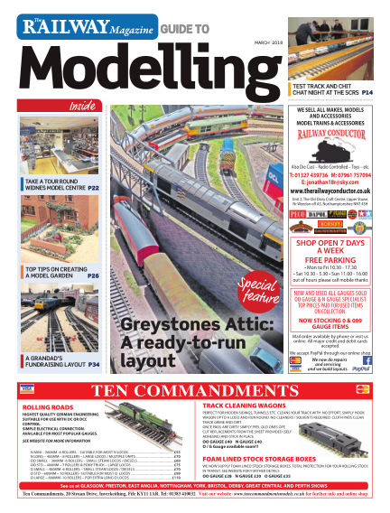 Railway Magazine Guide to Modelling February 23, 2018 00:00