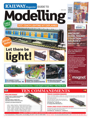 Railway Magazine Guide to Modelling May 2018