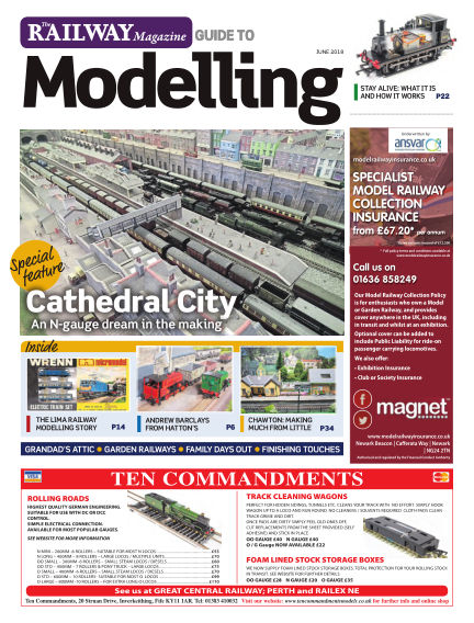 Railway Magazine Guide to Modelling May 25, 2018 00:00