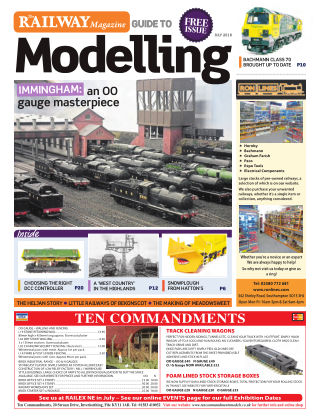 Railway Magazine Guide to Modelling August 2018