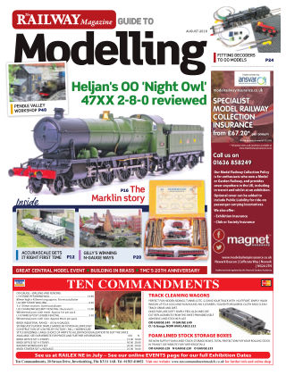 Railway Magazine Guide to Modelling AUG2018