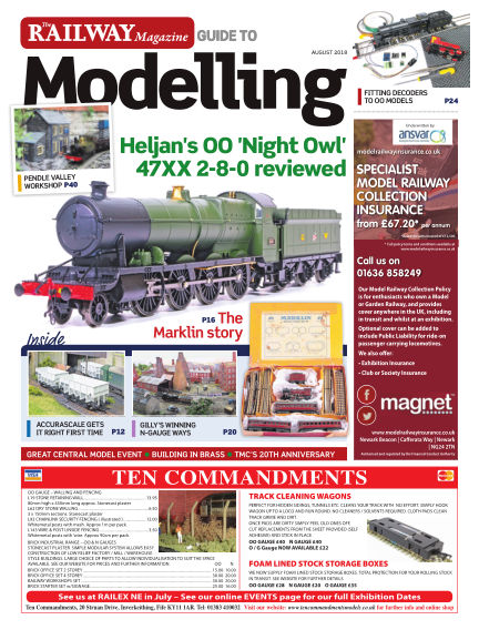 Railway Magazine Guide to Modelling July 27, 2018 00:00
