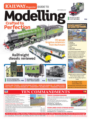 Railway Magazine Guide to Modelling September_2018