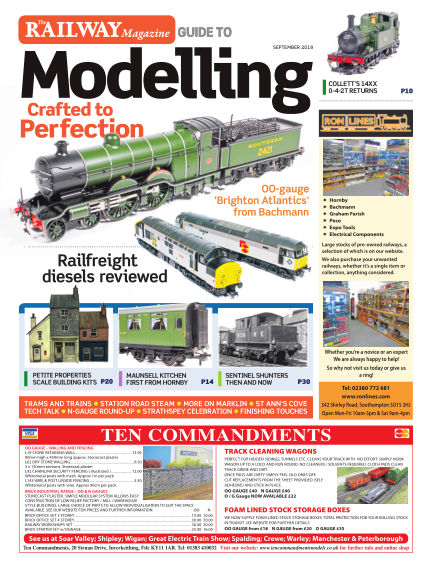 Railway Magazine Guide to Modelling August 24, 2018 00:00