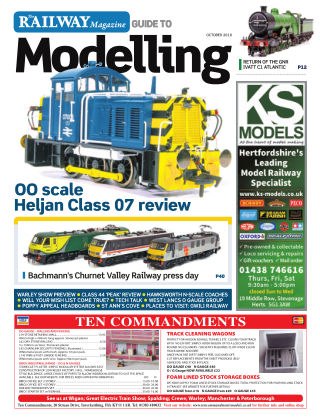 Railway Magazine Guide to Modelling October_2018