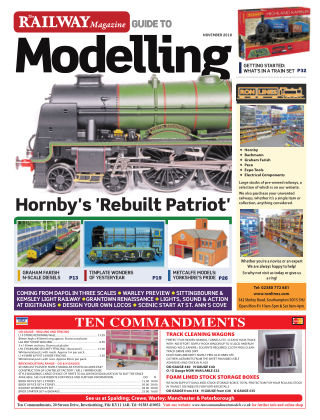 Railway Magazine Guide to Modelling November_2018