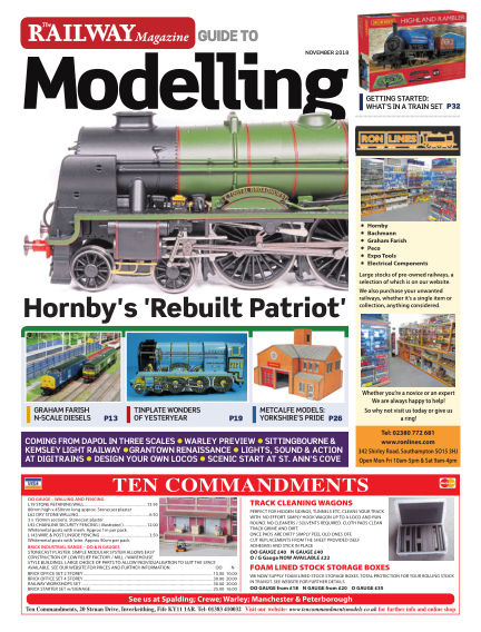 Railway Magazine Guide to Modelling October 26, 2018 00:00