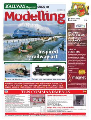 Railway Magazine Guide to Modelling December 2018