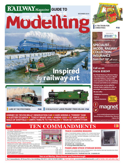 Railway Magazine Guide to Modelling November 23, 2018 00:00