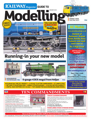 Railway Magazine Guide to Modelling January_2019