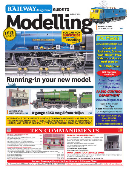Railway Magazine Guide to Modelling December 21, 2018 00:00