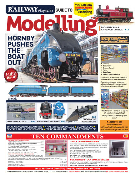 Railway Magazine Guide to Modelling February 04, 2019 00:00