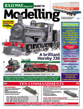 Railway Magazine Guide to Modelling March_2019