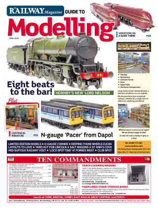 Railway Magazine Guide to Modelling April_2019