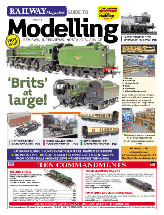 Railway Magazine Guide to Modelling June_2019