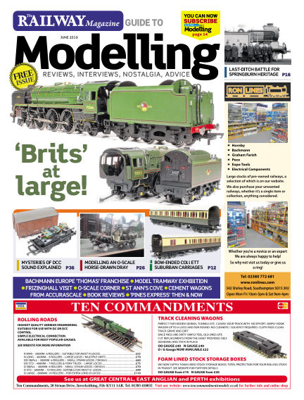 Railway Magazine Guide to Modelling May 24, 2019 00:00