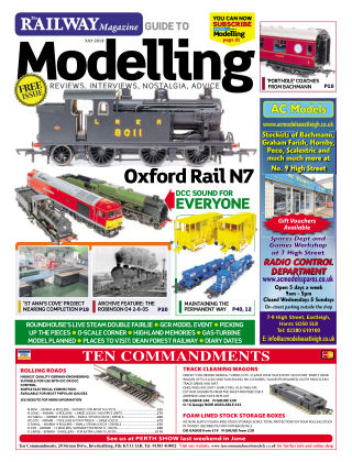 Railway Magazine Guide to Modelling July 2019