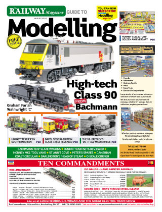 Railway Magazine Guide to Modelling August 2019