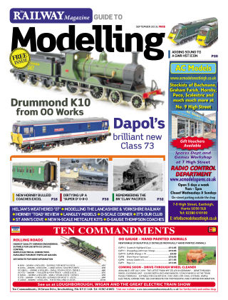 Railway Magazine Guide to Modelling September 2019