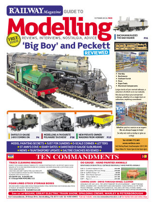 Railway Magazine Guide to Modelling October 2019