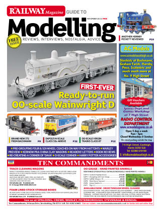 Railway Magazine Guide to Modelling November 2019