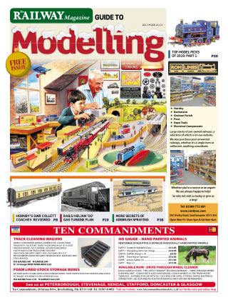 Railway Magazine Guide to Modelling December 2019