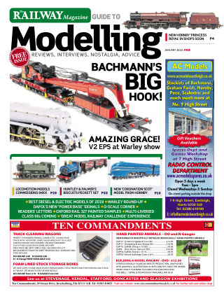 Railway Magazine Guide to Modelling Jan 2020