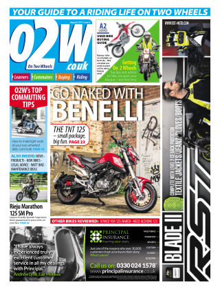 On Two Wheels August 2017