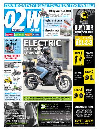 On Two Wheels September 2017
