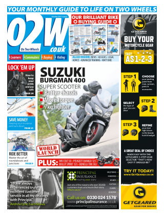 On Two Wheels October 2017