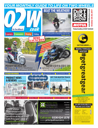 On Two Wheels November 2017