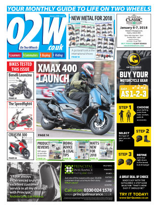 On Two Wheels January_2018