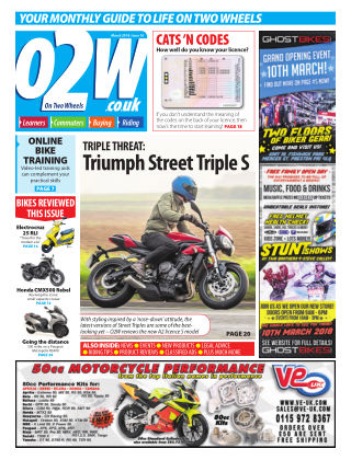 On Two Wheels March 2018