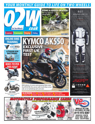 On Two Wheels April 2018