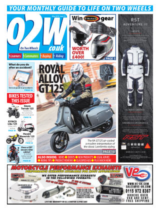 On Two Wheels May 2018