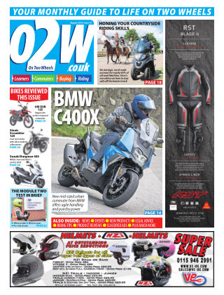 On Two Wheels August 2018