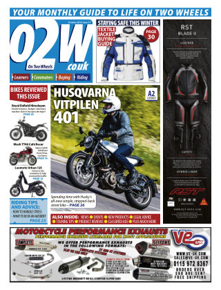 On Two Wheels October_2018