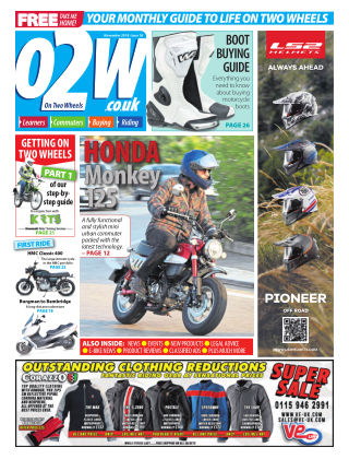 On Two Wheels November 2018