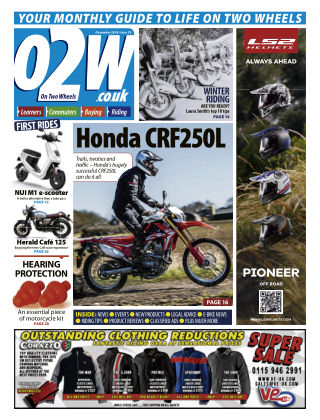 On Two Wheels December_2018